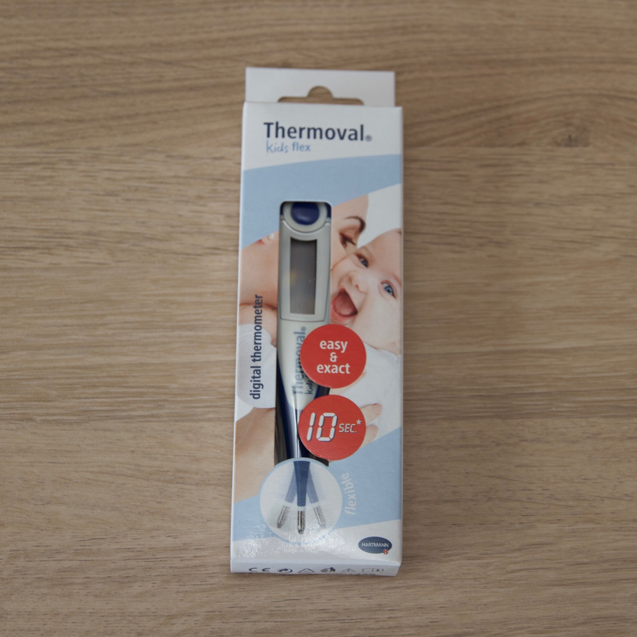 digitale flexibele thermometer - kwispeltherapie