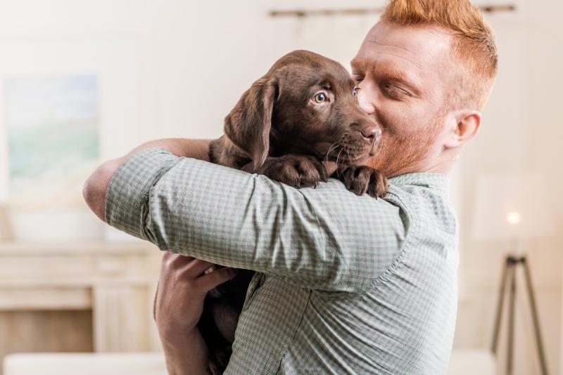 Kersvers pupbaasje - Kwispeltherapie